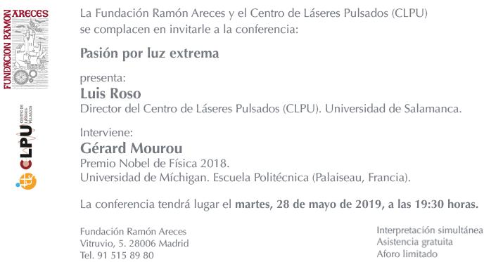 CONFERENCIA LUIS ROSO Y GERARD MOUROU